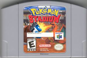 Pokemon Stadium (USA) Cart Scan